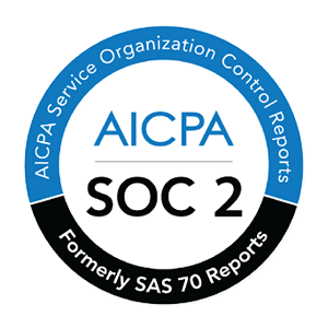AICPA SOC 2 badge