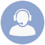 sales icon agent in headset