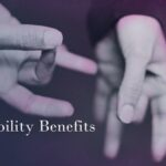 accessibility - a woman's hands displaying a gesture in american sign language